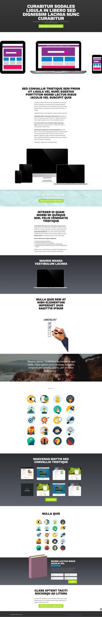 Mega Landing Page